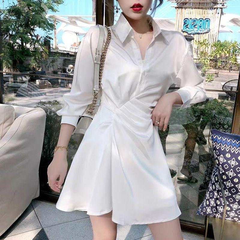 rrpLd bolha de manga estilo elegante vestido top saia top Francês amadurecer shirt curto ocasional vestido estilo leve das mulheres do verão 9823