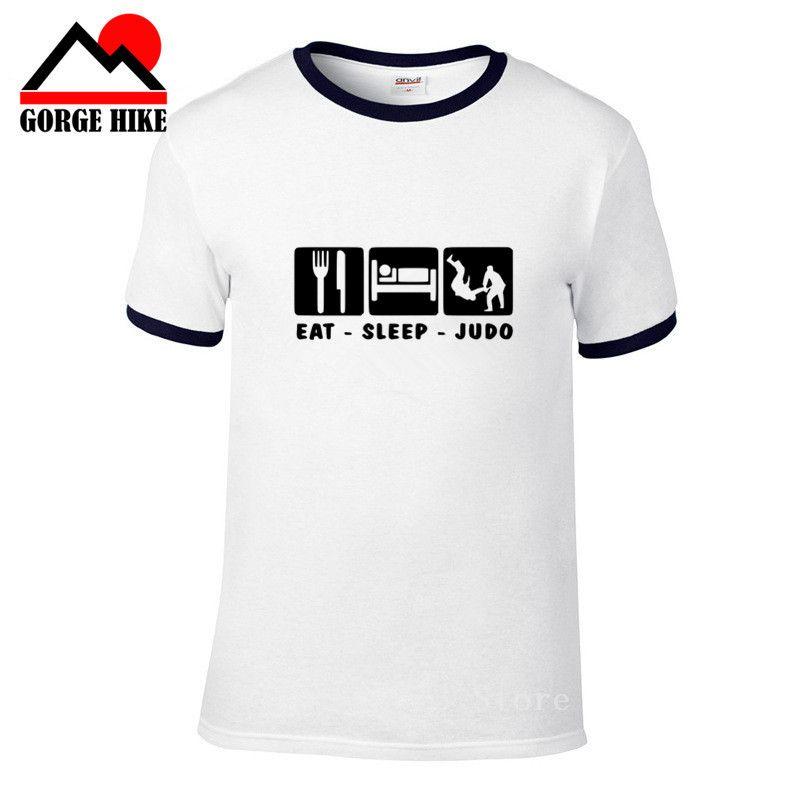 Brasile Eat Sleep Bjj Brazilian Jiu Jitsu Judo divertente T Shirt manica corta 3D Sport T-shirt Tees Raffreddare Tops Harajuku Streetwear