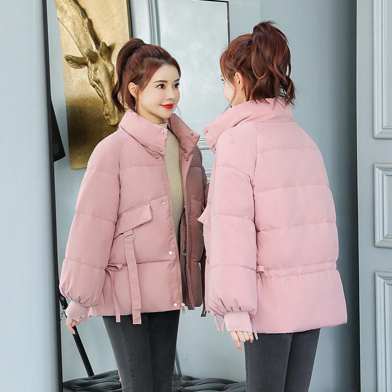 Large Size Winter Coat Women 2020 Fashion Winter Cotton Padded Parkas Outwear Casual Short Female Jackets Coats 6 Colors Y558