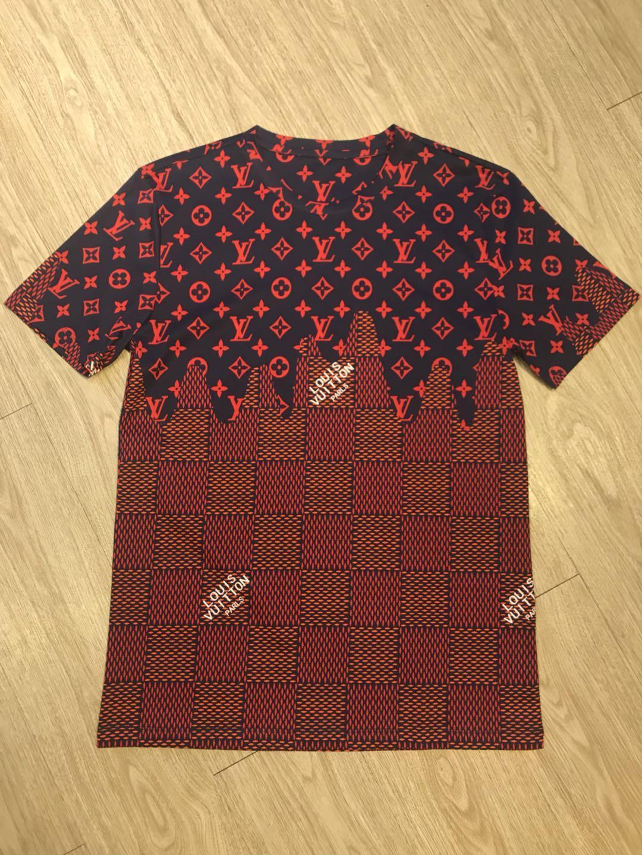 Primavera-Verão 2020 Europa Itália mens designer de camisetas roupas flor velho Couture Moda Homens Mulheres camiseta de manga curta