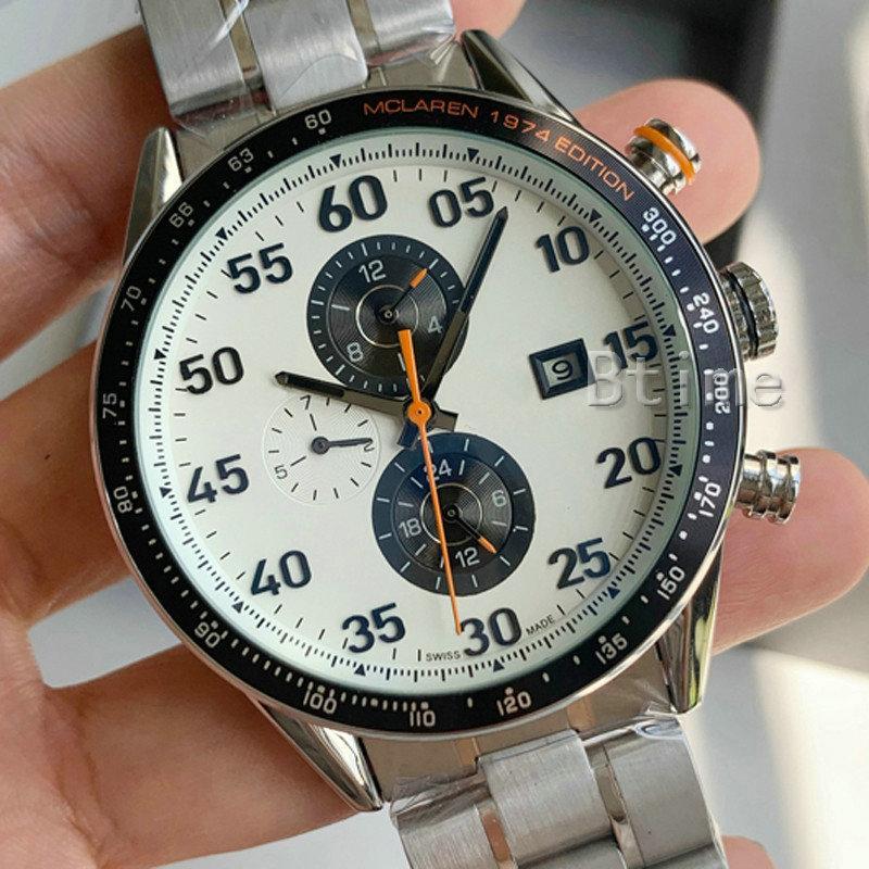 Moda Designer Mens Meccanico Acciaio inossidabile Movimento automatico orologio Auto-vento Orologi da uomo Professionale Top New WristWatches
