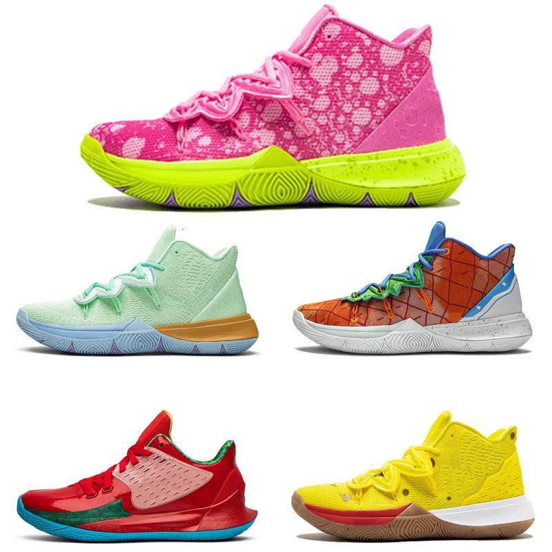 Nuovo arrivo Uomo Scarpe Kyrie TV PE pattini di pallacanestro 5 per a buon mercato 20 ° Anniversario spugna x Irving 5s V Cinque Sport Sneakers