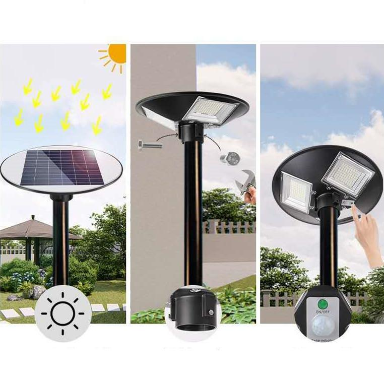 Solar LED Street Wall Lights 150W 200W Motion Sensor Solar Cell Rechargeable Battery Waterproof IP65 Lamps Remote Controller Outdoor China