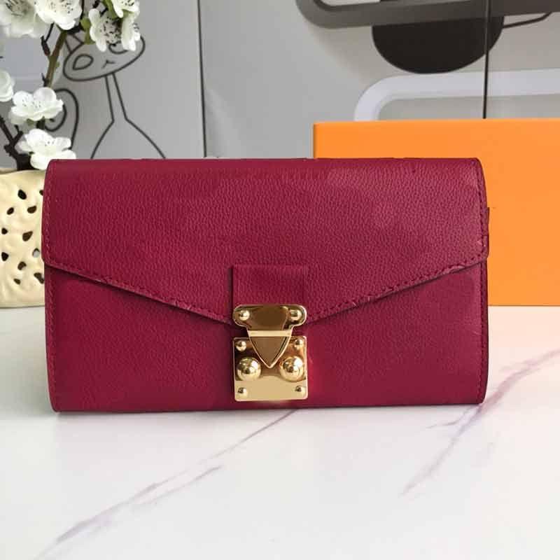L véritable femme en relief fleur porte portefeuille porte-monnaie sac à main sacs de dames style cuir cuir sacs sacs de mode mode de mode