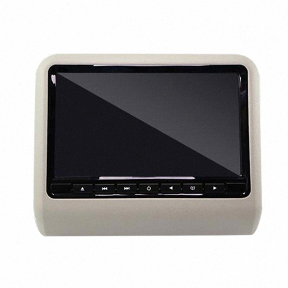 9 pulgadas de pantalla Multimedia Car Audio monitor del vehículo de vídeo digital universal electrónico Colgando del juego FM Pantalla LCD HD G7OA #