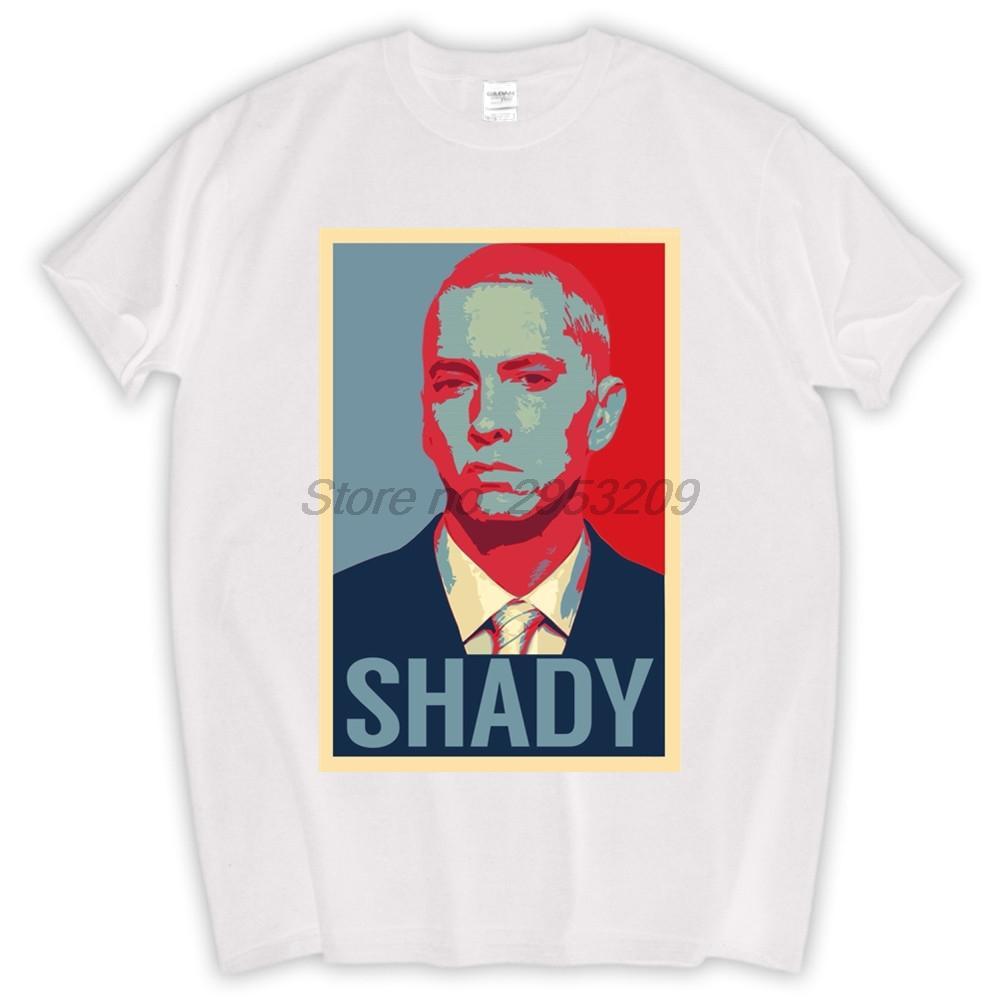 Eminem pour le Président T-shirt Top pur coton pour hommes T-shirt