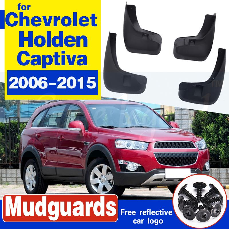 Pour garde-boue Chevrolet Holden Captiva 7 Sport 2006-2015 voiture Splash boue Guards Garde-boue Bavettes Fender 2010 2011 2012 2013