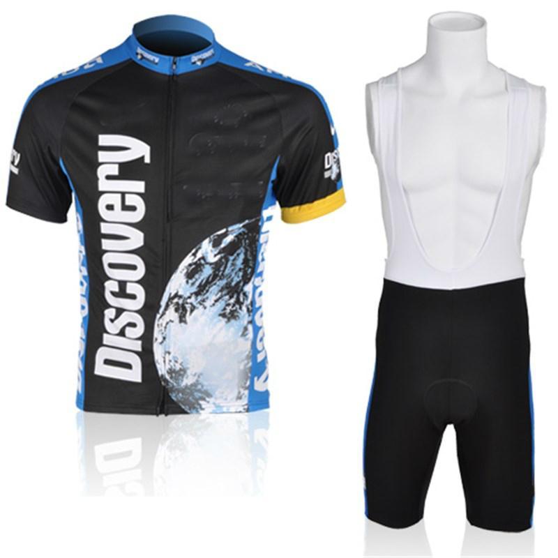 2021 New Discovery команда задействуя Джерси 19D велосипед шорты набор Ropa Ciclismo MENS MTB лето PRO Bicycling Майо нижнюю одежду