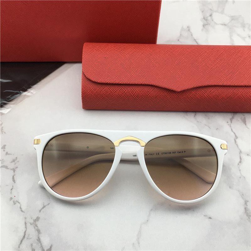0013 نمط أزياء المرأة مصمم النظارات الشمسية 2020 نظارات جديدة على غرار مستطيل الإطار العين الطليعية مع عدسة UV400 الماس أعلى جودة