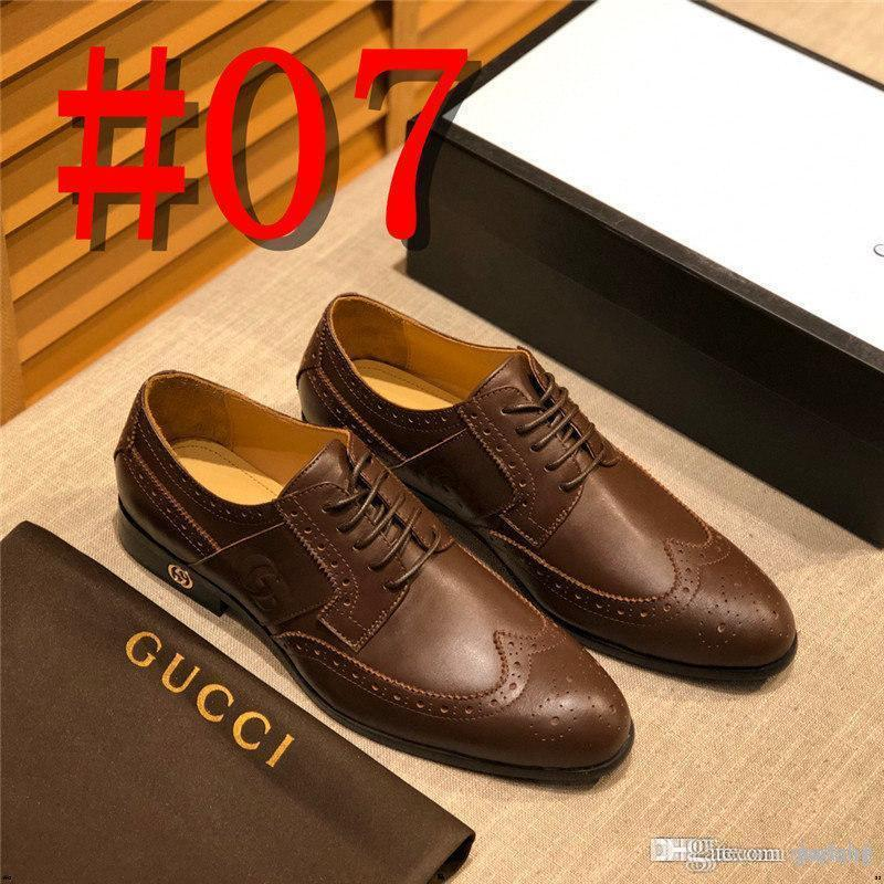 Luxury Brands Tassel Formal Shoes Men