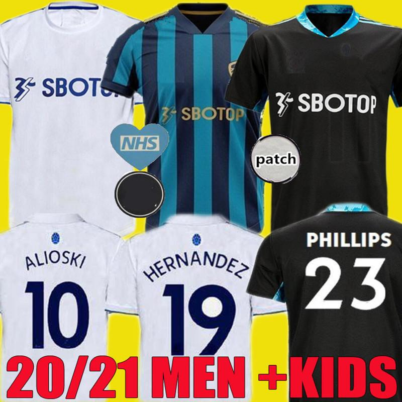 2021 20 21 Leeds Bamford United Soccer Jersey T Roberts 2020 2021 Harrison Costa Alioski Klich Hernandez Football Shirts Uniform Men Kids Kit From Xinying131129 10 38 Dhgate Com