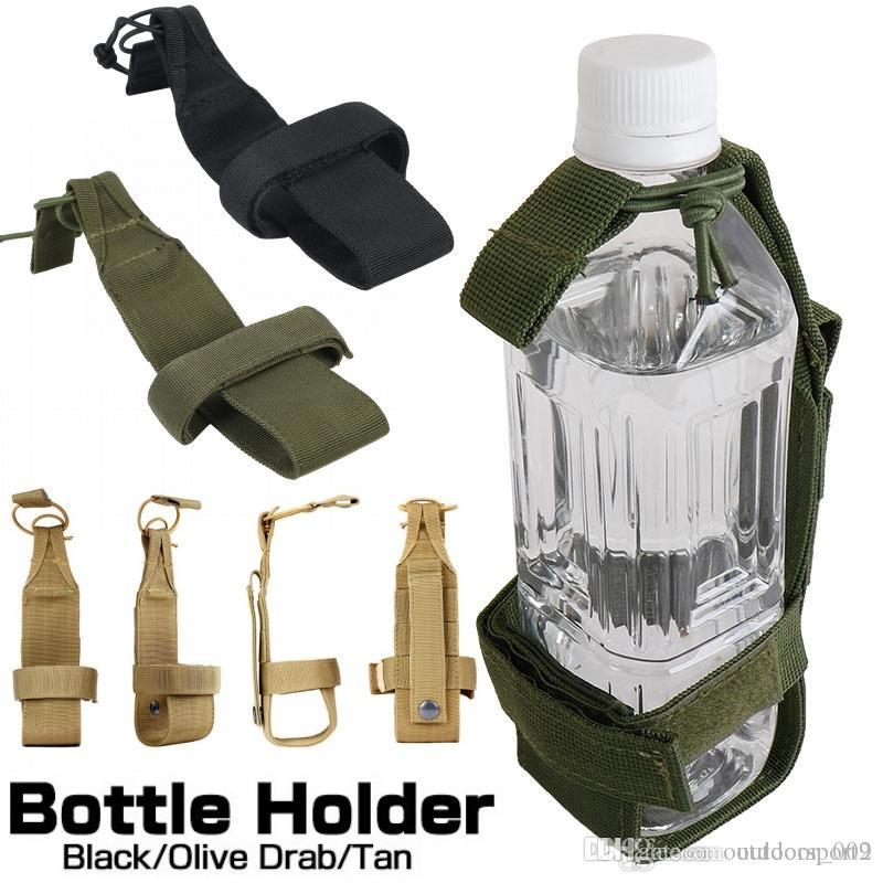 Outdoor Hunting Cycling Gear Nylon Water Bag Bottle Holder Carrier Pouch