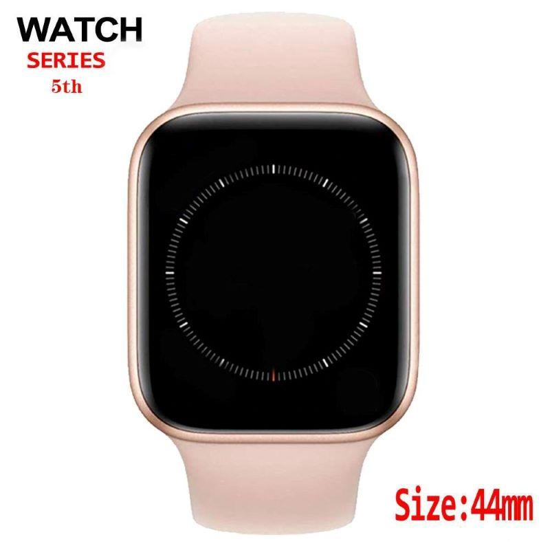 Cheap Fashion Smart Watch Bluetooth call 40mm 44mm display ECG Smartwatch for men women for iphone Android phone PK goophone watch for Gift