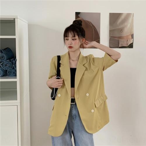 g5DWw de la nouvelle version coréenne de la polyvalente version multi-couleur veste à manches lâche Nouvelle-coréen lumière 47ViE polyvalent li multi-couleurs