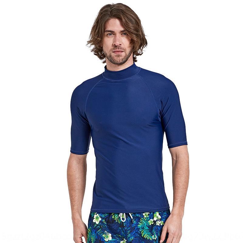 klksR tubarão medusas protetor solar roupas de secagem rápida surf mergulho de manga curta protetor solar Bart mergulho roupa de mergulho dos homens divididos divin GwA5o
