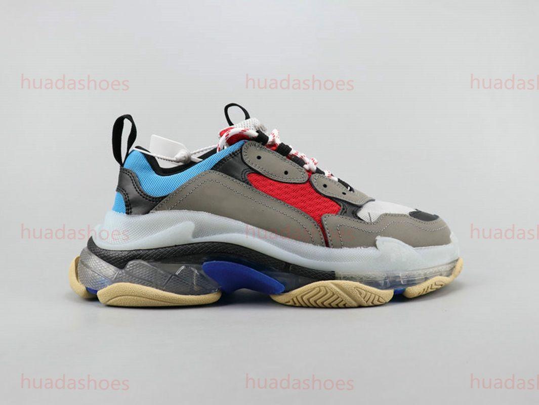 2020 Paris Casual Shoes Clear Sole