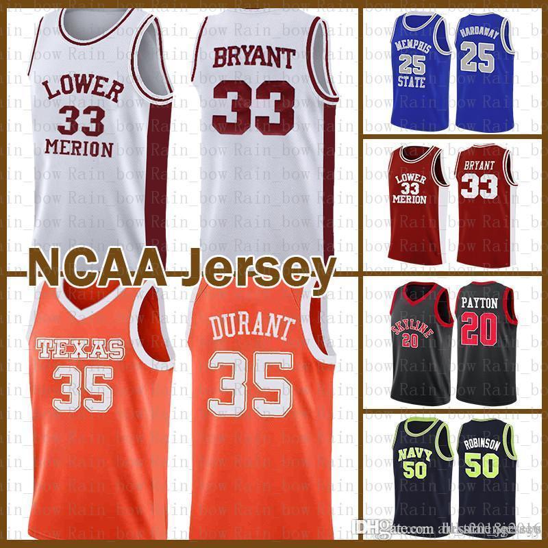 20 Kevin 35 Durant 33 NCAA Bryant Kawhi LeBron James 23 2 Leonard Colégio Dwyane Wade 3 barato venda Jersey Stephen Curry 30 Anfernee Hardaway