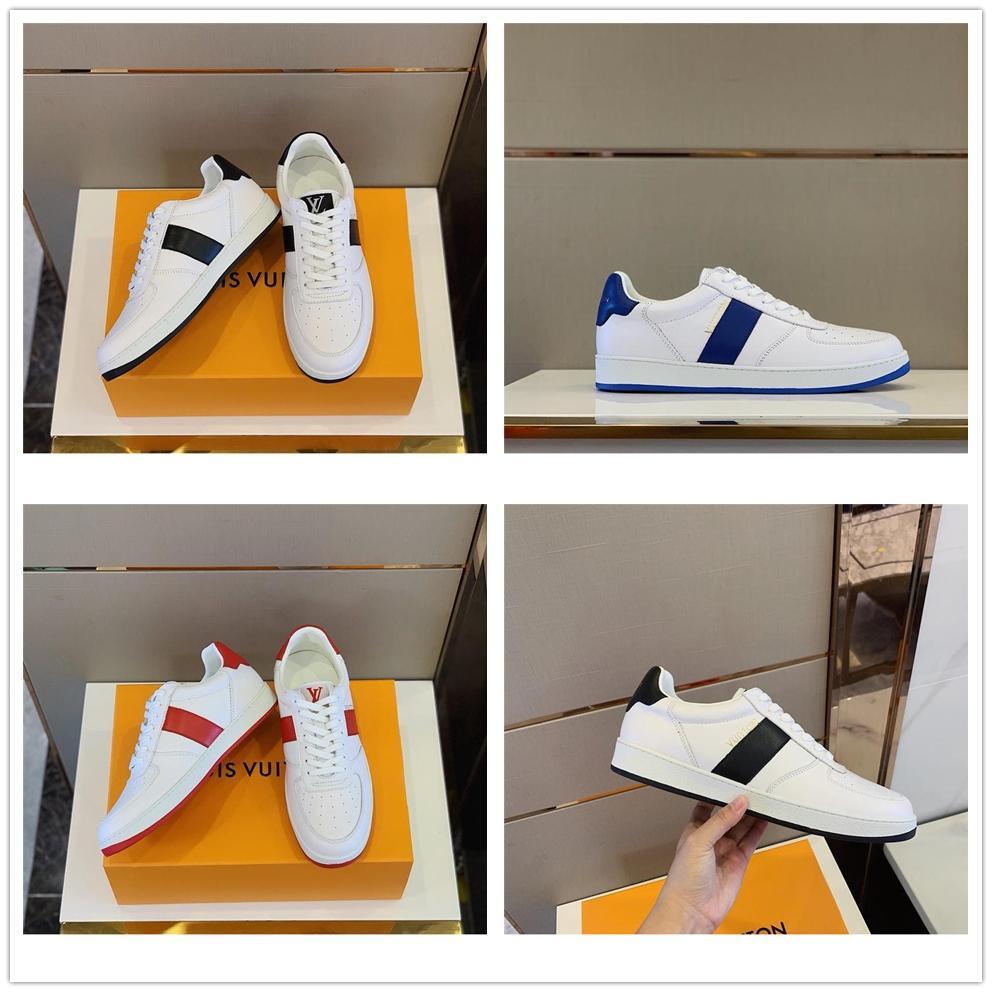 Lv Shoes Vintage Erkekler Ayakkabı V-10 Dana derisi Eğitmenler veja ESPLAR Ekstra Sneakers Üst Kalite Kadınlar Deri Ayakkabı Mesh Beyaz Casual Ayakkabı Dantel-up