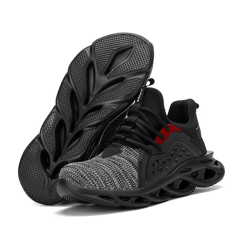 Sapatos Toe trabalho Sneakers Lightweight aço Cap Segurança Bota de Trabalho respirável Segurança Homens Botas Anti-Smashing Construção For Men