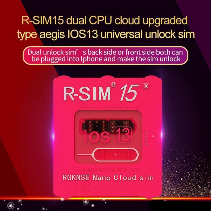 X Cartão atualizado 11 Rsim Para Xr Cpu Ios13 Xs 6 Rsim15 Ios7-13.x Rsim15 duplo para 15 Max Iphone 7 Desbloqueio Além disso Unlock Universal Xs 8 sKHeAYe