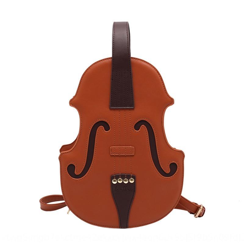 celebridad de Internet populares pequeña mochila pequeña bolsa de 2020 nueva moda personalitystyle violín mochila WKX9T bolso de las mujeres