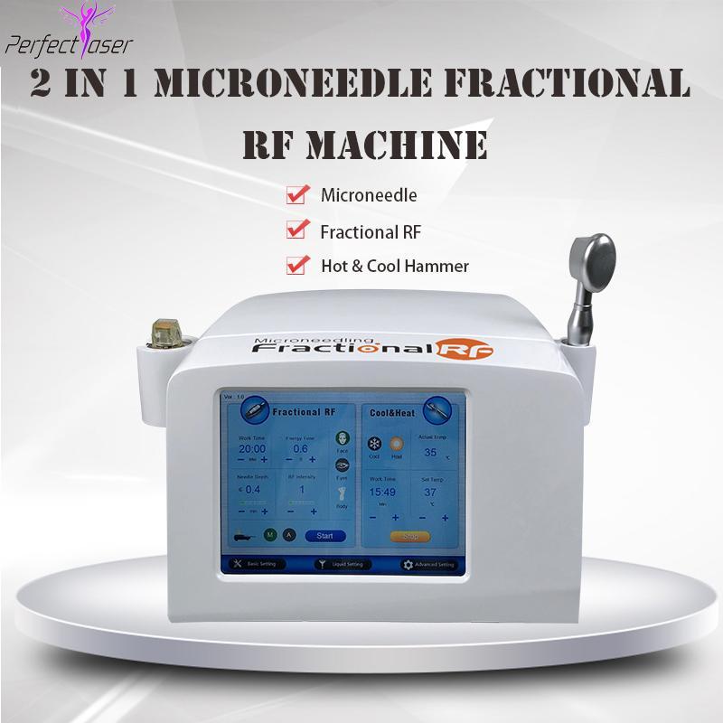 fractional rf máquina microneedle rolo de agulha micro sistema de dermatologia fracionada beleza equipamentos de rádio frequência RF beleza máquina CE