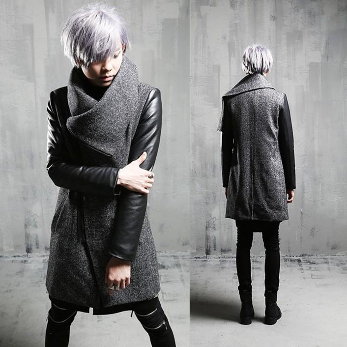 2020 Winter in Mode Warme Windjacke neue Baumwoll warmen Mantel der Männer koreanische dünne Woll verdickte Freizeit Trenchcoat Männer