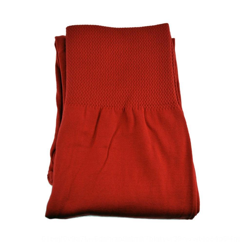 Otoño y pantalones ajustados pantalones ajustados invierno más el tamaño legging inconsútil espesaron los pantalones de lana de las mujeres legging inconsútil