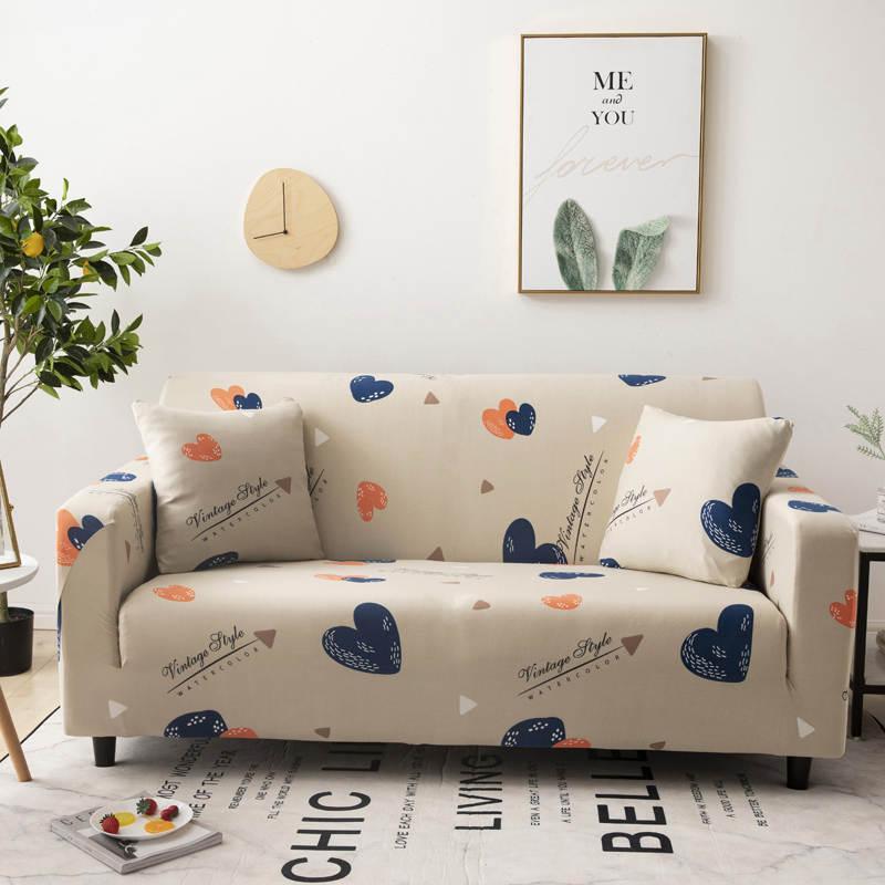 Romantique housse de canapé Belle canapé élastique combinaison multi-personne cadeau pour les filles tissu Microfibre de Home Furniture Protector