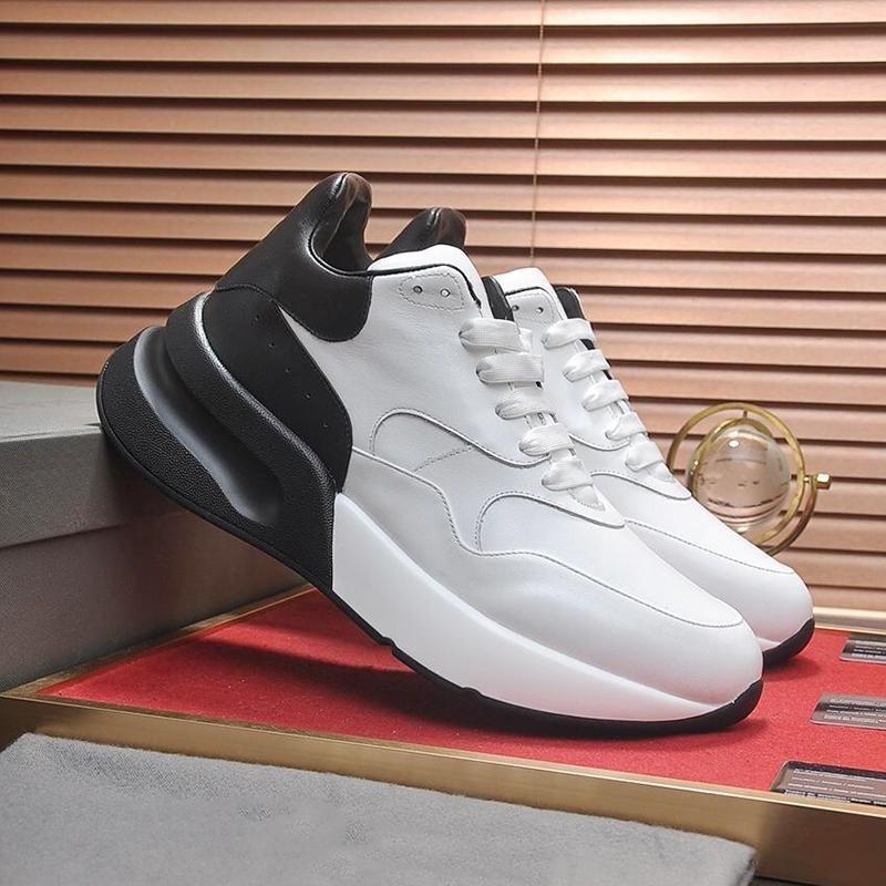 Мужская обувь Sneaker Luxury дышащие повседневная обувь верхнего качества вскользь Zapatos Kuitixm Крупногабаритные Design Luxury Mc654 Мужская обувь моды Продажа