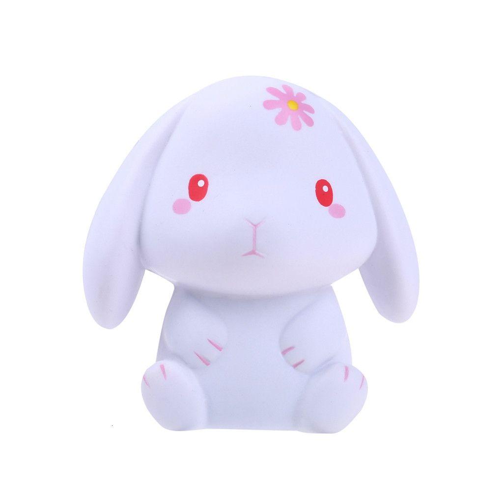 1coloue Squeeze macio Coelho Squishies adorável lenta Nascente Creme Squeeze Perfumado Stress Relief Brinquedos Z0218