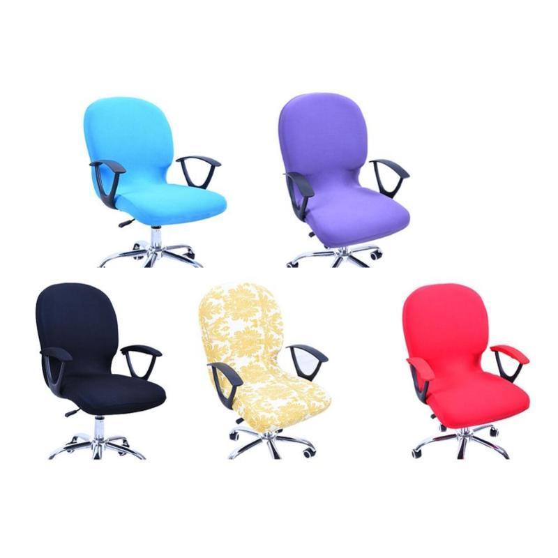 Elastizität Bürocomputer Stuhl-Abdeckung Seiten Arm-Stuhl-Abdeckung Chaise Stretch Rotating Aufzug ohne Arm