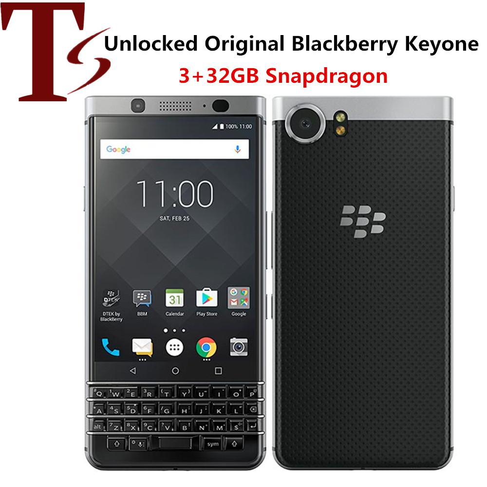 Refurbished Original Blackberry Keyone 4.5 inch Octa Core 3GB RAM 32GB ROM 12MP Camera Unlocked 4G LTE Android Smart Phone