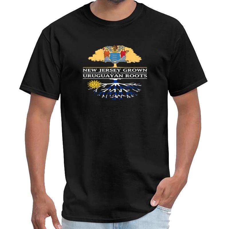Impreso Nueva Jersey crecido con raíces uruguayas tipo o mujeres negativas xxtentacion camiseta XXXL 4XL 5XL lema