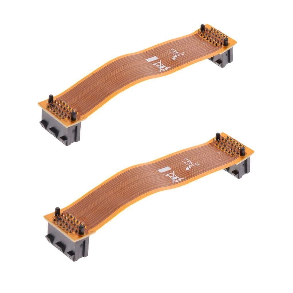 2x 10 centimetri 100 millimetri 3,93 \ '\' SLI PCI-E Cavo Ponte connettore per la grafica della scheda video