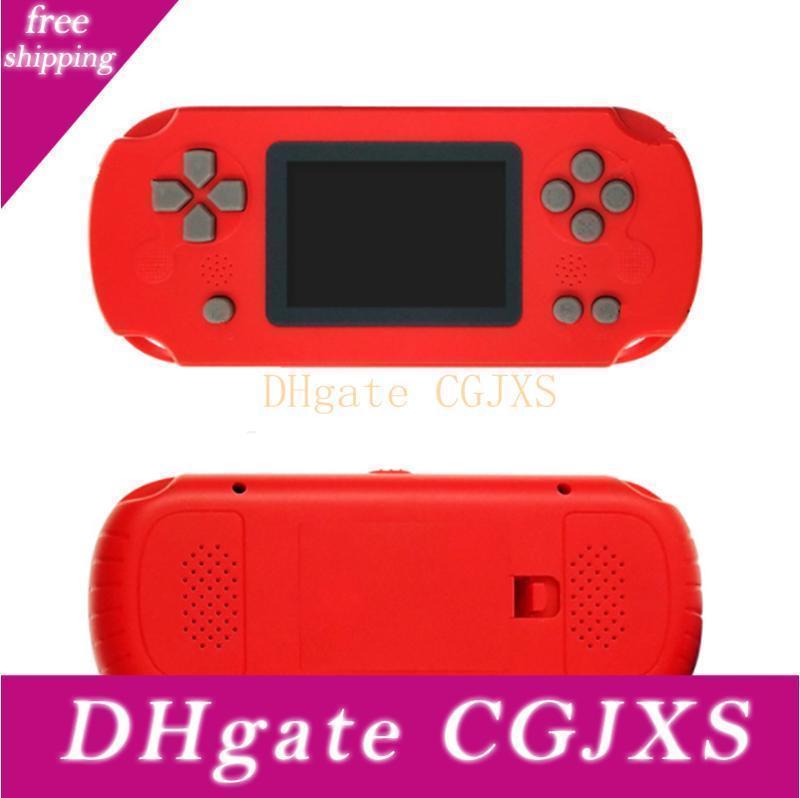 Mini portátil de mano clásico juego de consola puede almacenar 268 juegos, pantalla TFT en color de bolsillo para reproductor de Navidad regalo libre de DHL