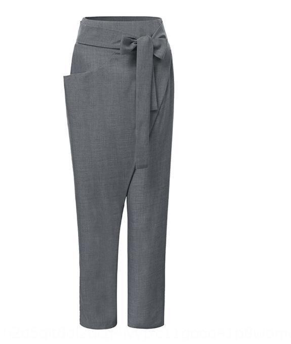 OgoSw 2020 Британский стиль и пят прямой стиль British 2020 Брюки и брюки щиколоток брюки прямые брюки 7WjQM