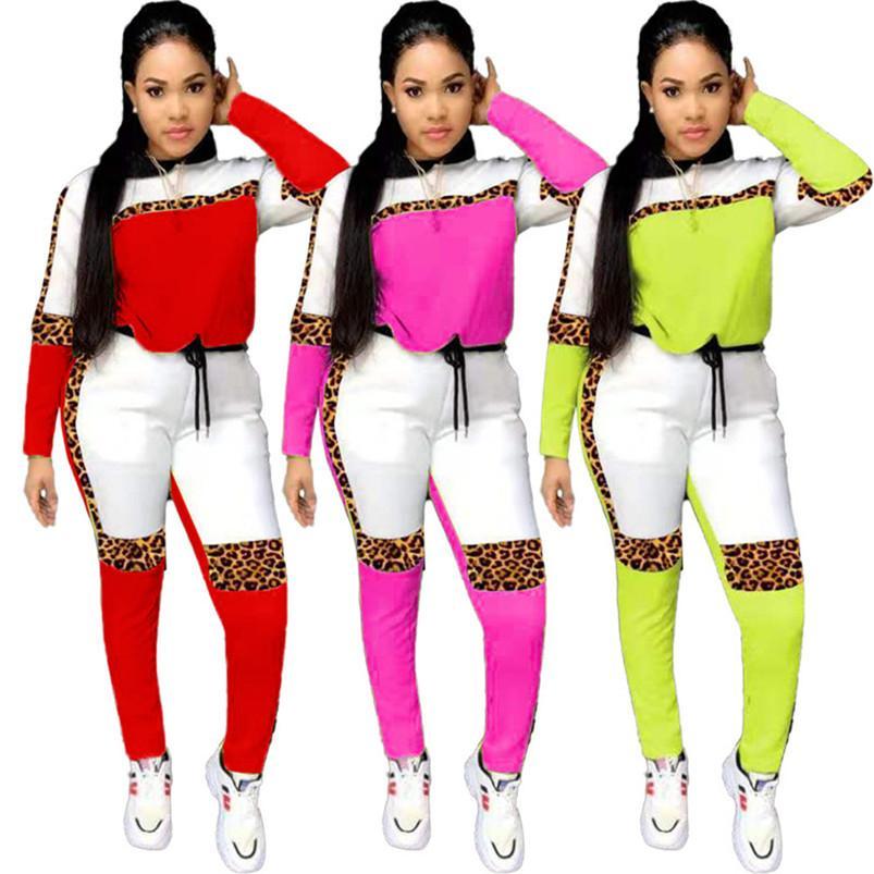 Les femmes survêtement de sport sweat à capuche 2 sweat-shirt costume ensemble sport de jogging morceau tenues à manches longues collants chute de costume de sport vêtements pour femmes 2792