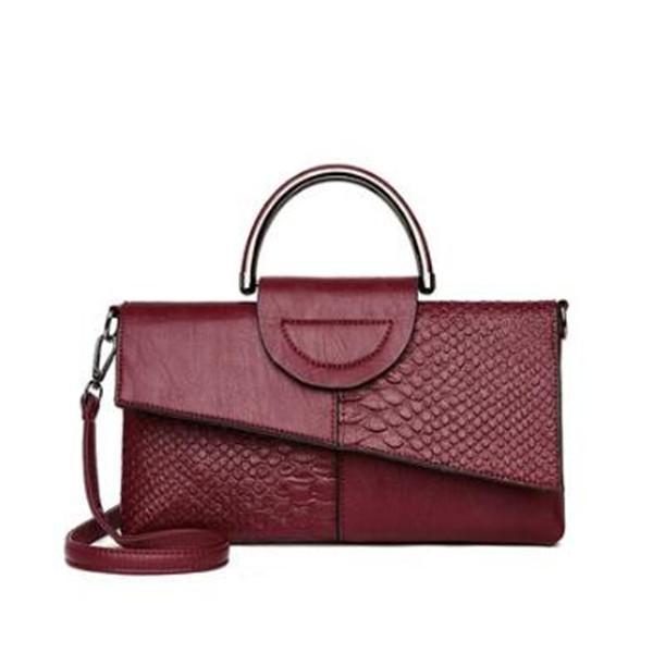 й корейская версия сумки для женщин, модных и модных, большая емкостью универсальных сумок с сумками поперечного тела для женщин