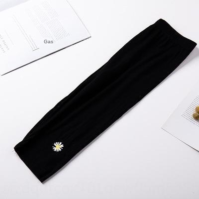 7E0p7 Leggings verão modal estilo coreano saia Calças e calças apertadas coreano estilo estudante 5 pontos calças femininas preto com saia anti