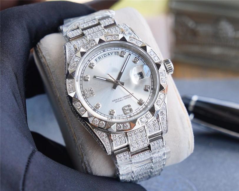 2020 Качество мужской размер модели 41mmX12mm904L прецизионные стальные Авгиевы механические часы водонепроницаемые часы мужской Механические часы