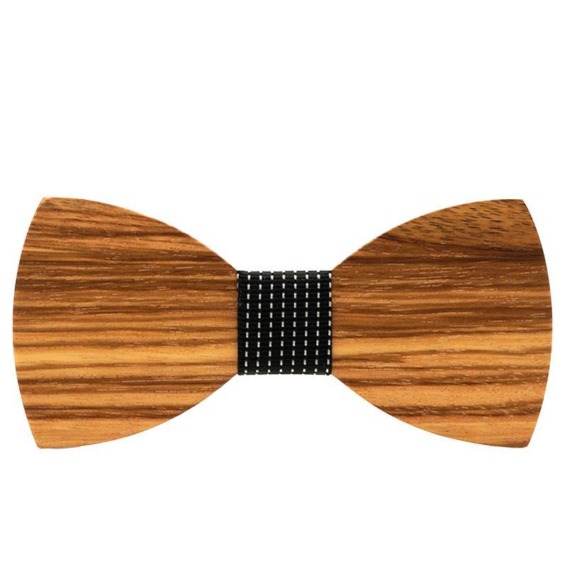 Sólido regalos de madera hecho a mano de madera de Bowtie pajarita 2020 hombres de negocios de traje unisex camiseta banquete de bodas clásico alto grado de moda