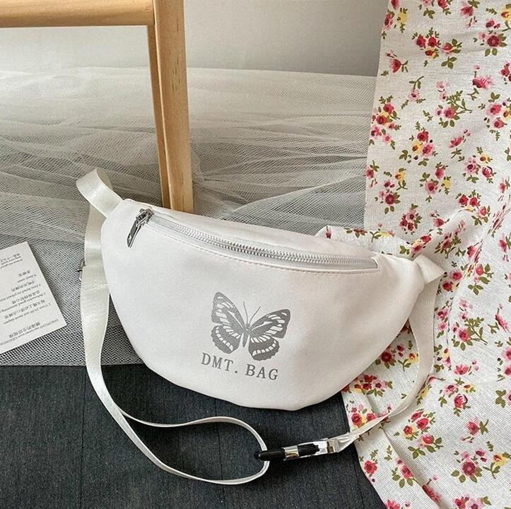 Graffiti Bolsa de Mujeres en el pecho cintura empaqueta Ins hombro de Crossbody del chica nueva manera fresca bolsos PH RG2061635 iWQH #