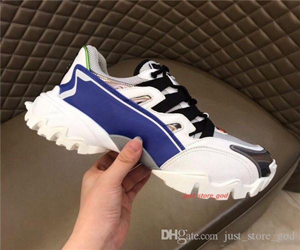 Valentino casual shoes 2020 Progettista Erkekler gerçek deri kumaş SNEAKERS orjinali ile 13 renk Kauçuk taban yüksek kaliteli ayakkabı tasarımcısı dağcı