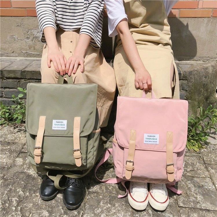Mori стиль простой высокой Hipster девочек и кампус школьный средней школы Ins сумка рюкзак стиль большой емкости рюкзака