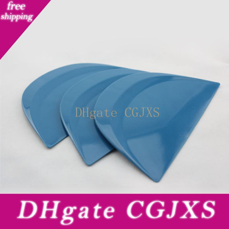 Livraison gratuite 13 * 8cm résistant à l'abrasion bleu DemiCercle Raclette intelligent Cardz Pour Car Tuning Mo -161 Whole Sale