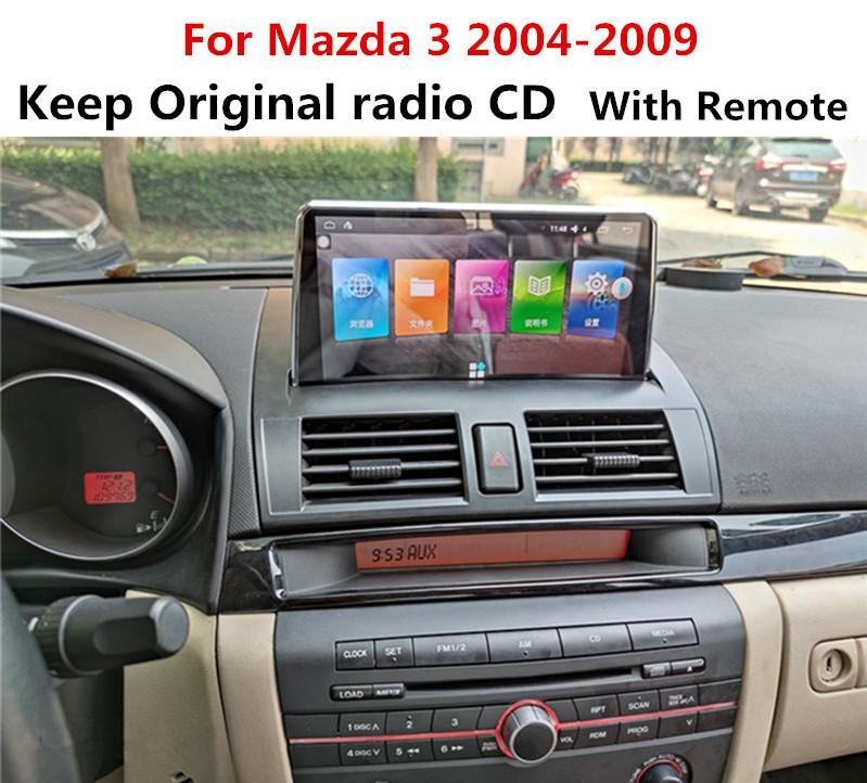 Android 9 car dvd for Mazda 3 2004 2005 2006 2007 2008 2009 car radio dvd gps head unit carplay multimedia bluetooth navigation stereo IPS