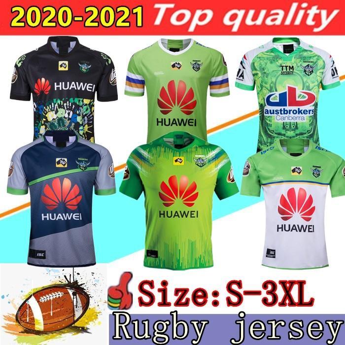 2020 석장 저지 NRL 럭비 리그 유니폼 (19) (20) (21) 캔버라 가해자 슈퍼 럭비 저지 크기 : S-3XL