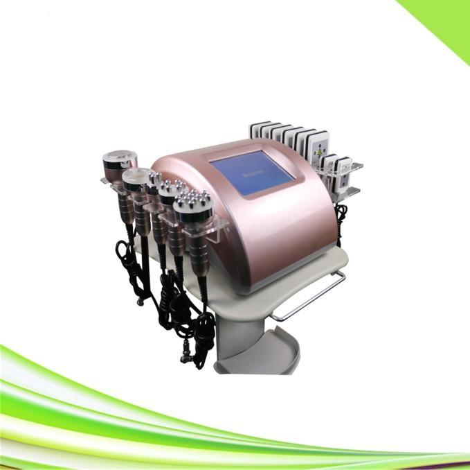6 in 1 lifting rf vuoto dimagrante cavitazione ultrasonica laser lipo cavitazione