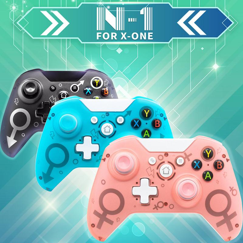 New N-1 N1 2.4G wireless Controller PC handle Precise Thumb Joystick Gamepad Suitable for XBOX ONE PS3 PS4 Nintend Switch Game Console MQ30